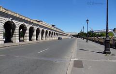 Multiple levels of Pont de Bercy (eutouring) Tags: paris france travel bridge pont pontdebercy metro car cars architecture