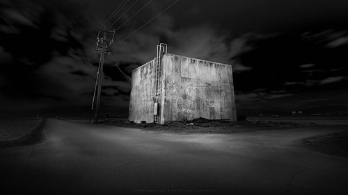 inside it (*Jin Mikami*) Tags: landscape bw light vintage architecture japan shadow black white art monochrome wall dark surreal bnw decay minimalism pentax fineart