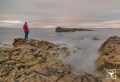 Sunset in Portrush (W.G. Photography) Tags: portrush coantrim northernireland uk sunset sky clouds colours rocks