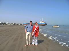 Beach in Bandar Abbas (Florien Velsink) Tags: iran bandarabbas beach persiangulf