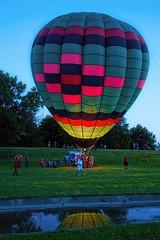 Tulsa Balloon Festival (brev99) Tags: d610 tamron35f18vc luminar topazdetail topazdenoise topazclarity balloon hotairballoons tulsaballoonfestival reflection perfecteffects17 ononesoftware on1photoraw2017