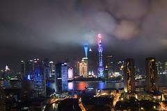 Shanghai-Night (kingzongqi) Tags: shanghai 延时 堆栈 陆家嘴 china 中国