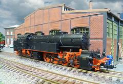 DRG BR 96 006 - Trix (Stig Baumeyer) Tags: steamlocomotive ånglok damplokomotiv damplok dampflokomotive scalah0 scala187 187 h0skala h0scale h0 h0layout echelleh0 echelle187 diorama ferromodellismo modelljärnväg modelljernbane modelleisenbahn modelrailway drg deutschereichsbahn br96 baureihe96 drgbr96 drgbaureihe96 mallet malletlocomotive bayerischegt2x44 gt2x44 trix trix187 trixh0