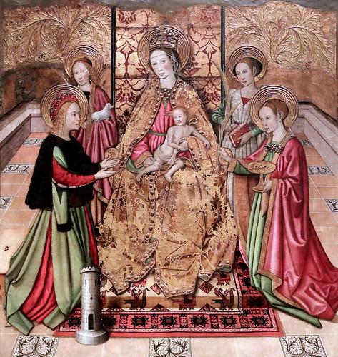 IMG_4682 Jaume Huguet. 1412-1492. Barcelone.    Volets du retable de Saint Michel. Shutters of the altarpiece of Saint Michel.