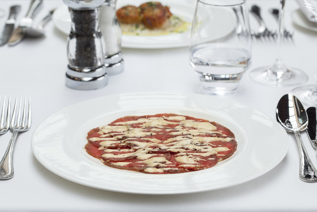 Beef Carpaccio © ROH. Photograph by ROH Restaurants, 2017