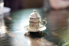 Turkish kavhe delight (rozen.daniel) Tags: planartfe1450 e mount sony zeiss 50mm 14 a7rii a7 coffee turkish kavhe metal iron hot drink morning foodie world eats inspiration bokeh bokehlicious