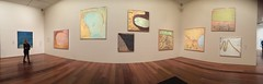 John Olsen You Beaut Country exhibition (Figgles1) Tags: img2820 iphone panorama melbourne victoria johnolsen youbeautcountry you beaut country art painting ngv australia ngvaustralia nationalgalleryofvictoria national gallery exhibition exhibitions theyoubeautcountry paintings