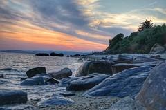 Watch the World burn (pattaoverhage) Tags: griechenland greece chalkidiki halkidiki sea ocean sunset sony sonnenuntergang urlaub vacation nice awesome moody