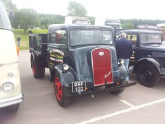 ORF 102 - PC Howard (quicksilver coaches) Tags: ford fordson 7v orf102 pchoward gaydon