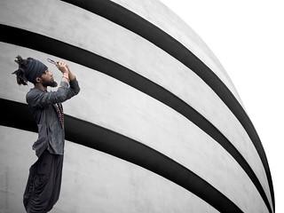 shooting the Guggenheim