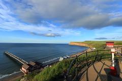 View Point (kpce1960) Tags: saturday self challenge landscape colour view pier canon sky clouds cliffs