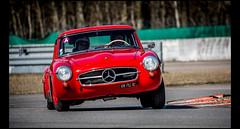 Mercedes Benz 190 SL (Laurent DUCHENE) Tags: coupesdeprintemps linasmontlhéry 2017 mercedes benz 190 sl mercedesbenz
