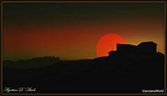 Fantasie... al tramonto - Giugno-2017 (agostinodascoli) Tags: tramonto sunset landscape cianciana sicilia agostinodascoli creative photoshop nature texture