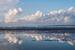 Morning Clouds (@bill_11) Tags: clouds blue spring coast kent uk thanet pegwell bay reflection cumulus canon powershot g7xmkii thanetskies