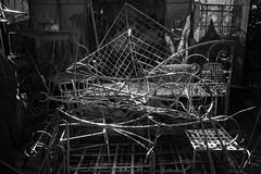 1000 Beautiful Things (toletoletole (www.levold.de/photosphere)) Tags: fujixt2 marokko marrakesch xf18mmf2 morocco accessoire still metal workshop werkstatt kasbah metall sw bw
