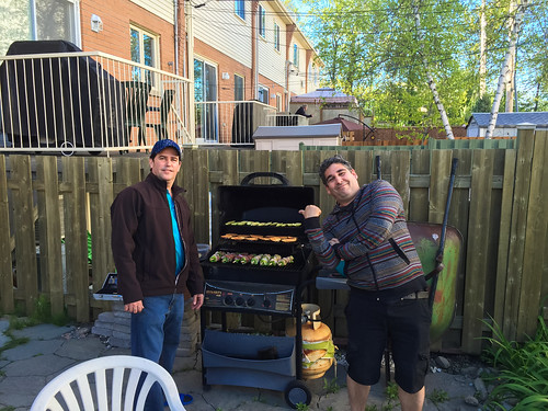 BBQ at Lemais' place with High School friends
