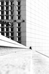 La défense Steps (Raphaël Melloul) Tags: raphael melloul photographer photographies photos p photographe photography photo picoftheday steps step noir blanc black white chromatic silhouette