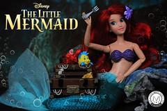 A dinglehopper! (PrinceMatiyo) Tags: toyphotography doll disneyprincess partofyourworld disneystore disney ariel mermaid thelittlemermaid