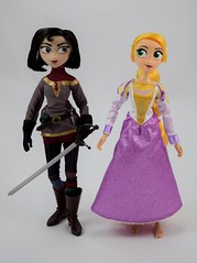 Rapunzel and Cassandra Doll Set - Tangled: The Series - Disney Store Purchase - Deboxed - Free Standing - Full Front View (drj1828) Tags: us disneystore tangled tangledtheseries doll 2017 purchase posable 10inch 2d deboxed rapunzel cassandra