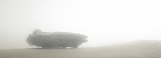 freighter under the (upcoming) sandstorm