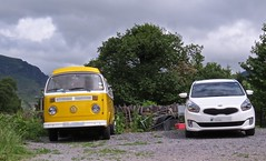 2220 Lady and the tramp (Andy - An idle laddy) Tags: barbq campervan cars ccc combivan kiacarens kkk lady lll vehicle vvv vwcampervan white www xanthic xxx yellow yyy