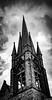 Milton PA Church (charlie_guttendorf) Tags: blackandwhite gothicrevival guttendorf miltonpa nikon nikon18200mm nikond7000 architecture blackandwhitephotography church cloudy impossing moody