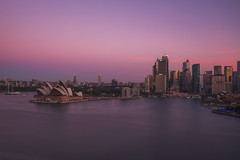 Pink-Purple Sunset (S♡C) Tags: sydney sydneyharbour operahouse le nd 10stop