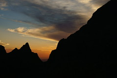 The window, Big bend national park (DT278 Photography) Tags: thewindow bigbendwindow tamron texas 70200 minolta bigbendnationalpark bigbendnationalparktx bigbend bigbendtx sony a57 slt america camping desertmountains sunset sky silhouette sharp chisosmountains