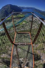 Rampestreken viewpoint (Roar Bævre Photography) Tags: norway 2014 norge summer hdr åndalsnes romsdalen romsdalsfjorden rampestreken