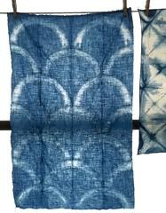 1973A (SOFennell) Tags: workshop ncmuseumofart indigodyeing shibori