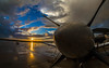 Vance AFB T6A (DropDead Imagery) Tags: vance afb air force landscape clouds rain storm ok oklahoma enid sunset