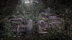 Abandoned vehicles (ducatidave60) Tags: fuji fujifilm fujixt1 fujinonxf1024mmf4 abandoned dereliction decay urbandecay