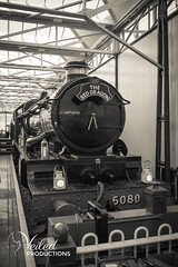 Train at Buckinghamshire railway centre | Veiled Productions