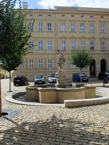 Kašna na Václavském náměstí