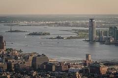 Liberty Island/Ellis Island (theilheimer) Tags: newyork empirestatebuilding observationdeck freiheitsstatue manhattan statueofliberty libertyisland ellisisland usa state