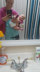 "Dani and Mommy Take a Bathroom Selfie • <a style=""font-size:0.8em;"" href=""http://www.flickr.com/photos/109120354@N07/34565206920/"" target=""_blank"">View on Flickr</a>"