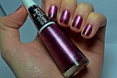Desafio dos Clássicos #10 - Violeta Black. (Raíssa S. (:) Tags: esmalte unhas nails purple wine bordeaux bordô nailpolish naillacquer ludurana magnetic magnético desafiodosclássicos