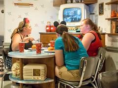Classic (Glen Zazove) Tags: disney disneyworld orlando mickeymouse 1960s diner lunch mouseketeers ears retro