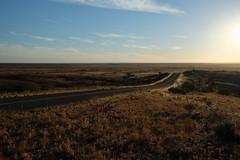 Road to ... where? (335semi) Tags: australia nsw brokenhill outback silverton fujixt2 road madmax mundimundi
