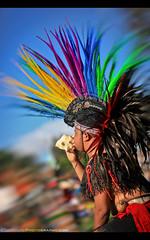 Aztecs Unite! (Sam Antonio Photography) Tags: balboapark powwow sandiego dancer plume tradition culture costume mexican aztec mexico man festival feather fiesta headdress hispanic ritual religion spiritual traditionaldancing prehispanic precolonial diademuertos mexicanculture headgear indian exotic aztecan ceremonial indigenous men dayofthedead portrait samantoniophotography