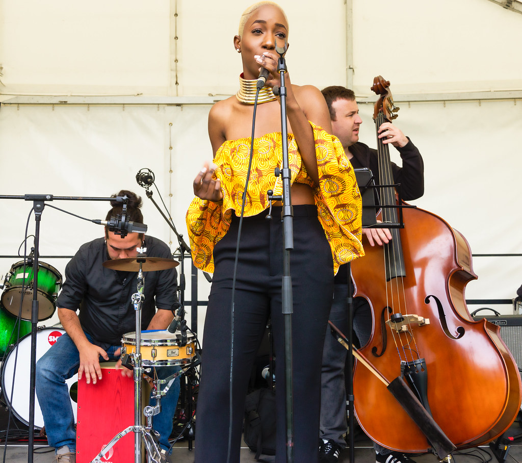 NC GREY IS A SOUL SINGER SONGWRITER [SHE PERFORMED AGAIN AT AFRICA DAY IN DUBLIN]-128593