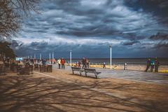 Baltic Sea - Beach Boardwalk (relaxedhothead) Tags: travemünde baltic sea apsc fuji xe2 jpeg lightroom outdoor photoshop raw timmendorfer strand beach ostsee xf 1855mm meer himmel