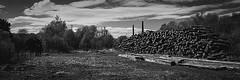 Sleeper Cell (Brian Travelling) Tags: derelict dunaskin ironworks ayrshire scotland blackandwhite mono monochrome pentaxkr pentax pentaxdal industrial