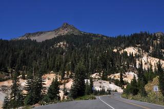Entering Lassen Volcanic National Park