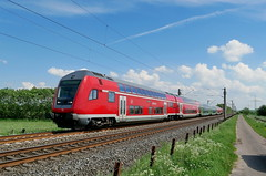 P1190232 (Lumixfan68) Tags: eisenbahn züge wendezüge steuerwagen bauart dbpbzfa 766 bombardier twindexx doppelstockzüge doppelstocksteuerwagen deutsche bahn db regio