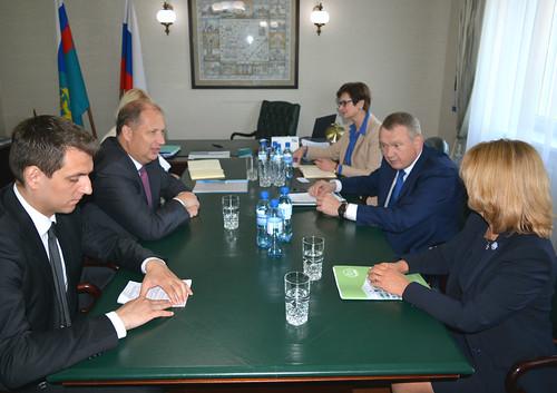 Встреча с Послом Словакии в России П.Припутеном ©  MFA Russia - Representation in Kaliningrad
