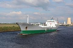 'Cementos Cantabrico' Ellesmere Port 22nd May 2017 (John Eyres) Tags: veteran cement carrier cementos cantabrico 1976 passing ellesmere port heading outward 220517 manchestershipcanal