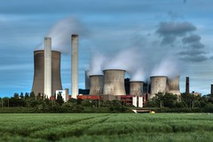 Through the German roads (mbaldo) Tags: hdr power lignite plant electricity germany energy coal mbaldo aldo magrì clouds sky high huge concrete steel canon 5d mark iii