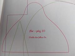 MOLDE DA FOLHA (Priscila Mendes) Tags: pap tulipa fuxico e costura