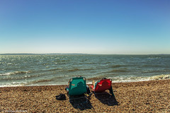Day 146/365 Oh we do like to be beside the seaside [Explore] (Eiona R.) Tags: astarterforten hampshire2017 meonshore hillhead explore
